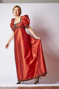 robe avec décolleté carré